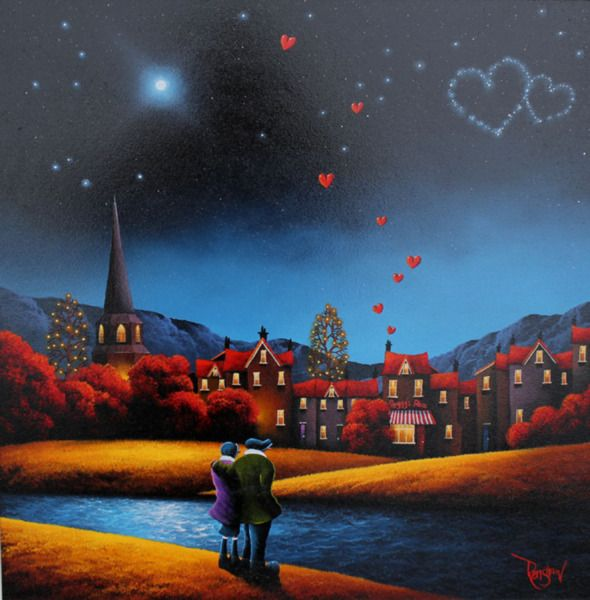 Home Sweet Home. Original Oil Painting by David Renshaw.
