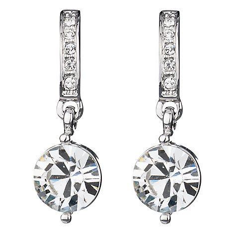 Buy Finesse Swarovski Crystal Drop Earrings Online at johnlewis.com
