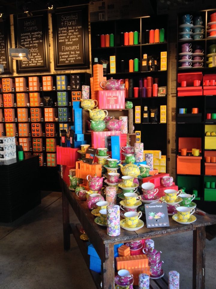 T2 Tea... it is one of those stores... you come back inspired from. Whether it is the beautiful teapots, teacups, the packaging and those beautiful tea portions!