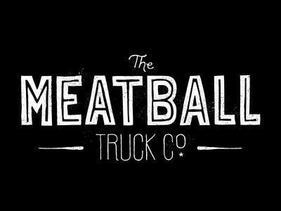 The Meatball Truck Co. Logo