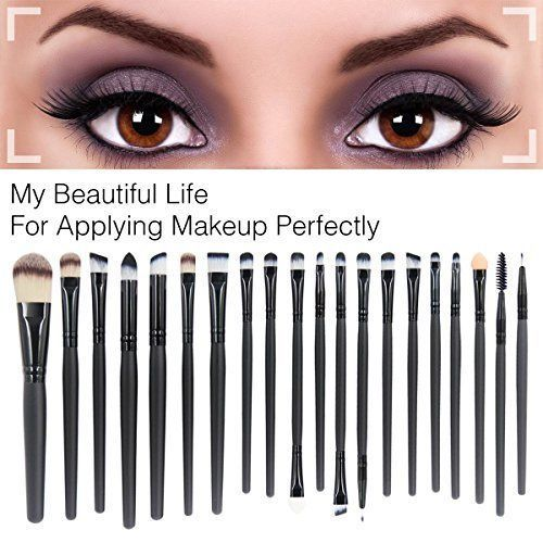 Makeup Brush Set Proffesional Complete 20 Count Cosmetic Beauty Tools Pro NEW #EmaxDesign