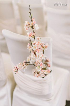 WedLuxe – Cherry Blossom Season | Photography by: Wedding Editorials Follow @WedLuxe for more wedding inspiration!