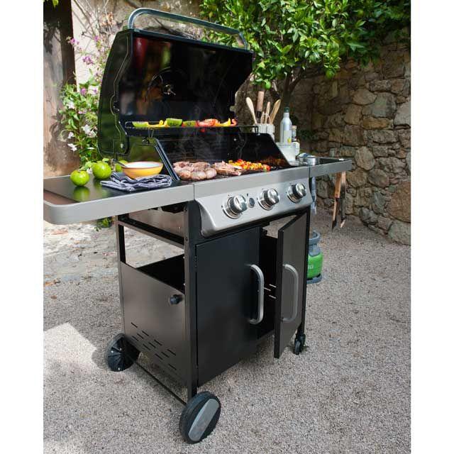 Nice Barbecue A Gaz Castorama #9: Barbecue à Gaz Barker 300 Prix Promo Castorama 269.00 U20ac TTC