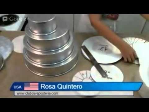 Medidas y porciones de tortas, un tutorial del clubdereposteria.com