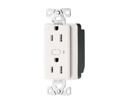 Cooper Wiring Devices RFTR9505-TAW Aspire RF Z-Wave 15A Wireless Outlet - Alpine White. An ASPIRE RF™ Z-Wave® enabled device must be within 60 feet of another Z-Wave enabled device to participate in a Z-Wave wireless mesh network. Any one receptacle can be controlled remotely by other RF devices through association (dimmers, switches, receptacles or plug-in modules)...