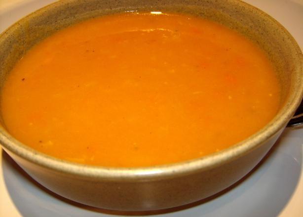 South African Butternut Soup