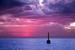 SLA-1400814 © WestPix Cottesloe Beach. View of pylon, pink sky. Picture: Scott Slawinski