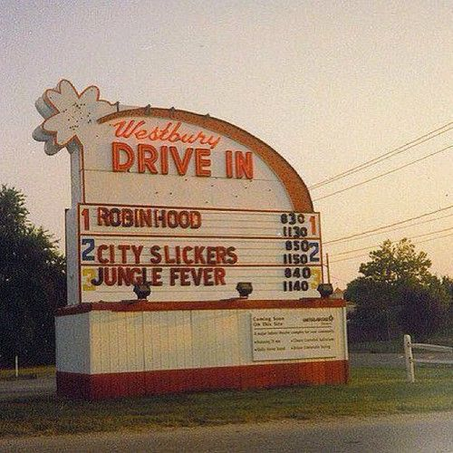 Westbury Drive In Movie Theater.