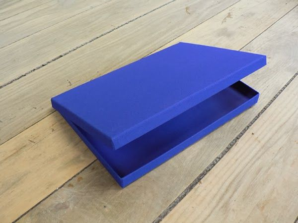 Hinged Lid Box with Hidden Magnetic Closure manufactured in London by W MacCarthy & Sons Ltd