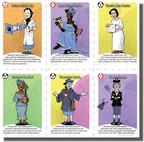 Mujeres de ciencia.
