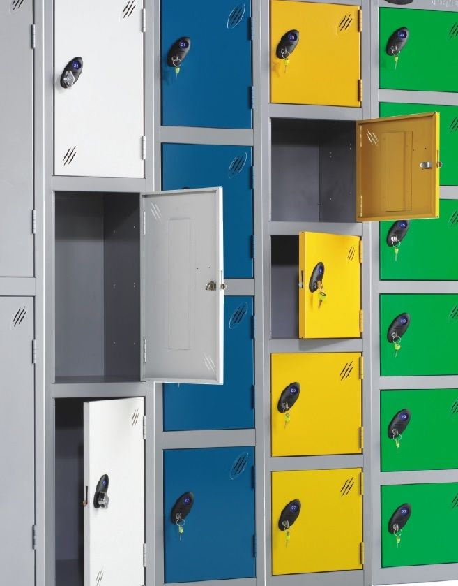 Staff Lockers- Ideas To Help You In Selecting by Shelving Store UK #staff #lockers #office #storage