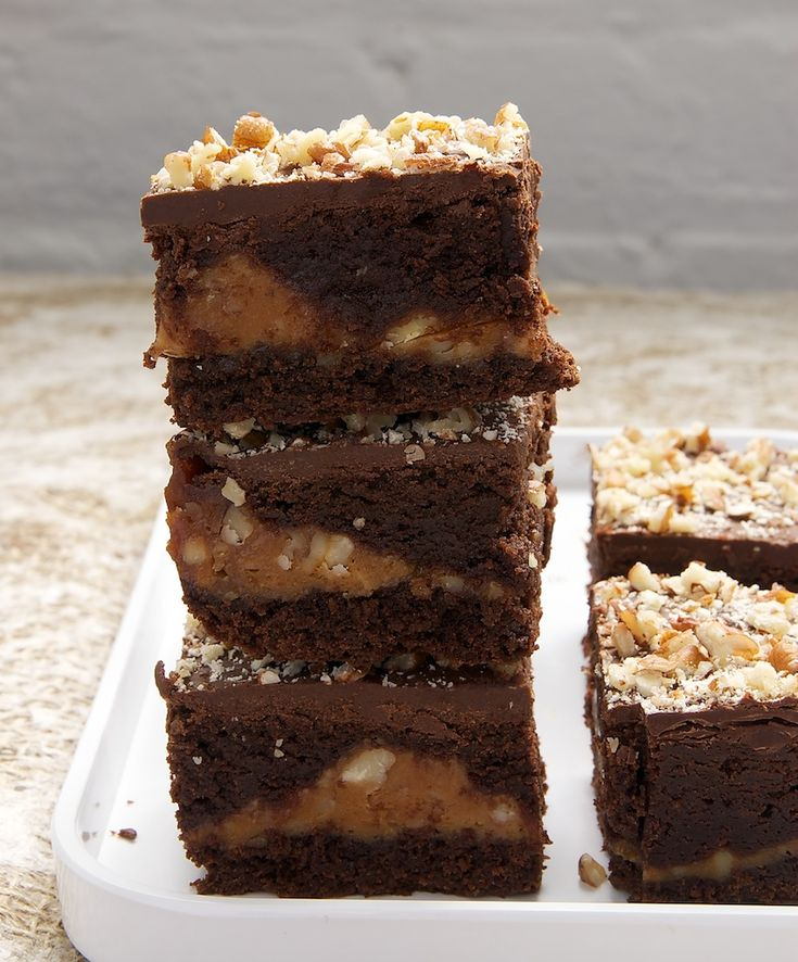 Caramel Pecan Brownies | Recipe