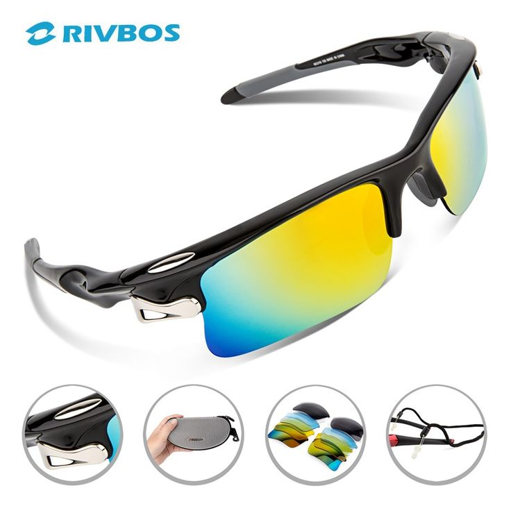 RIVBOS Oculos Ciclismo Cycling Glasses Men Gafas Ciclismo Bicycle Bike Sports Cycling Sunglasses Eyewear RB0308