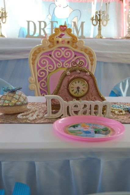 Cinderella table setting
