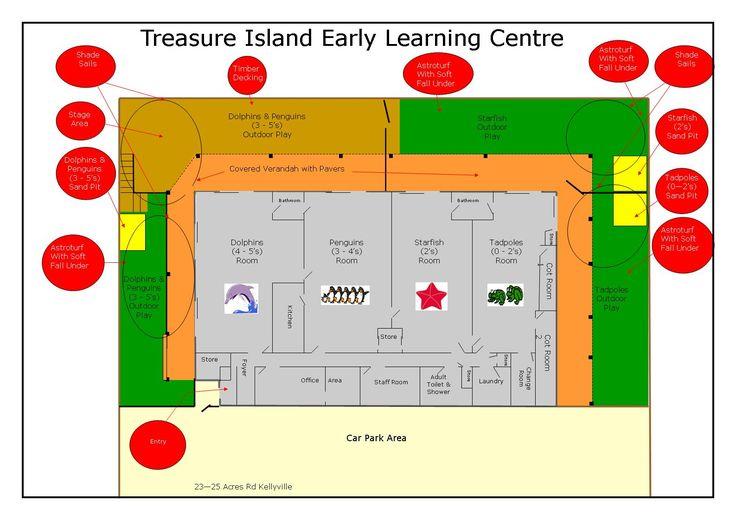 Create A Preschool Classroom Floor Plan: Floor Plan Of Kids World Day Care In
