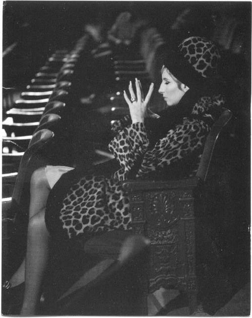 Barbra as Fanny Brice in Funny Girl