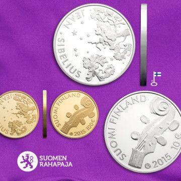Jean Sibelius Collector Coin