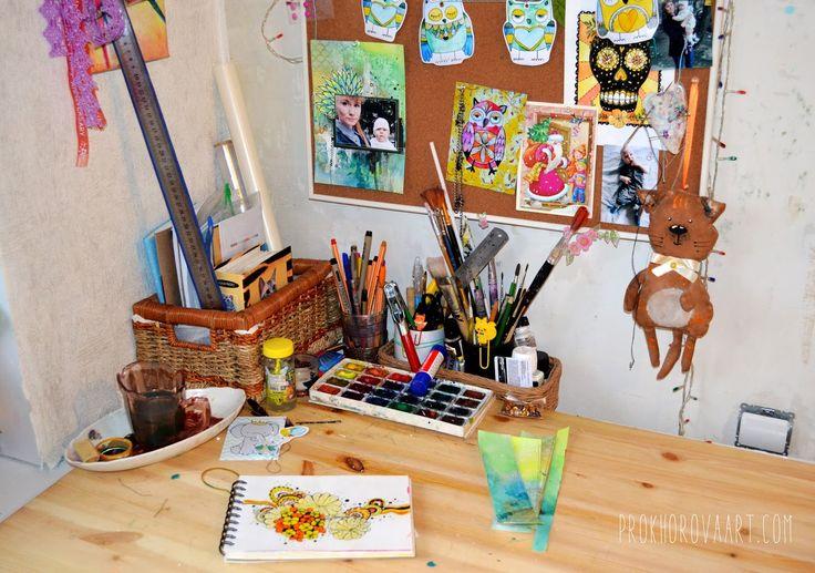 Будни художника...Weekday artist