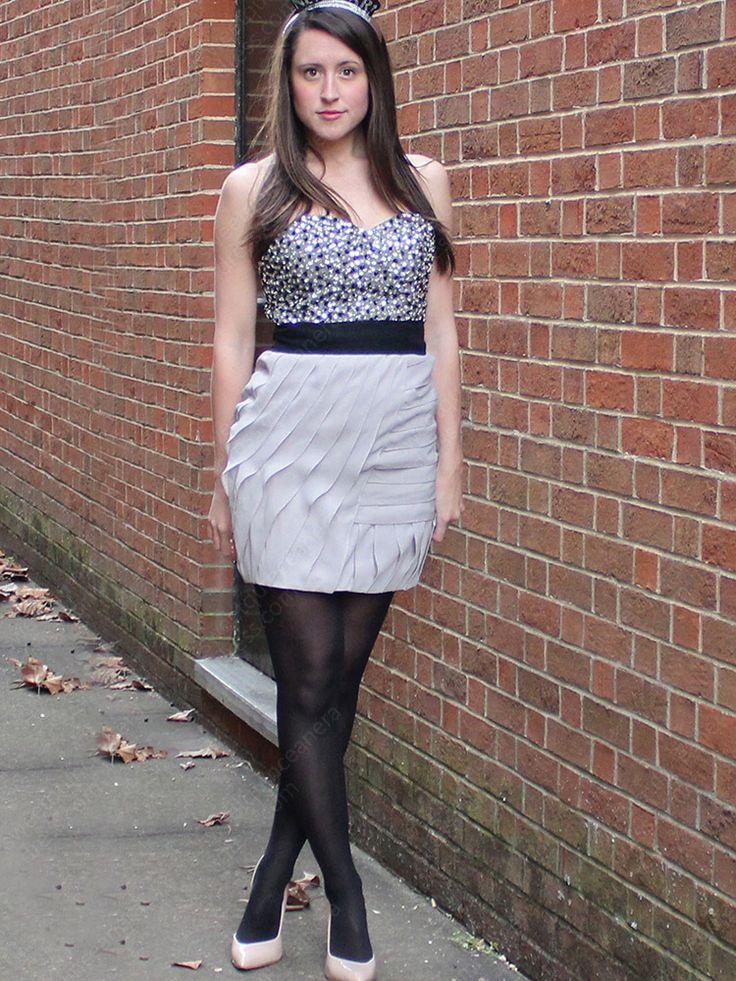 Sheath/Column Sweetheart Chiffon Short/Mini Sequins