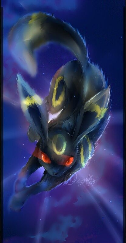Pokemon: I don't think anyone understands my immense love for Umbreon. I absolutely love this pokemon and I will make an entire team of kickass Umbreon's. For the sake of kickass Umbreon's.