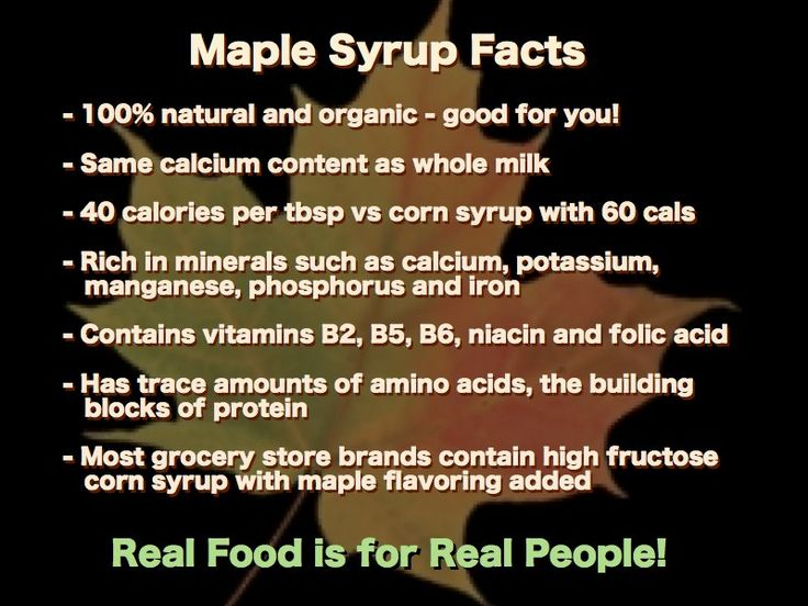 What are some benefits of using organic maple syrup?