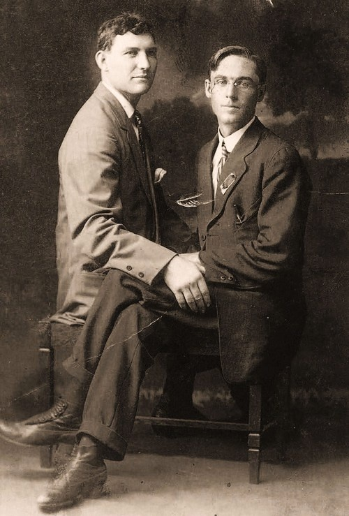 vintage male couples