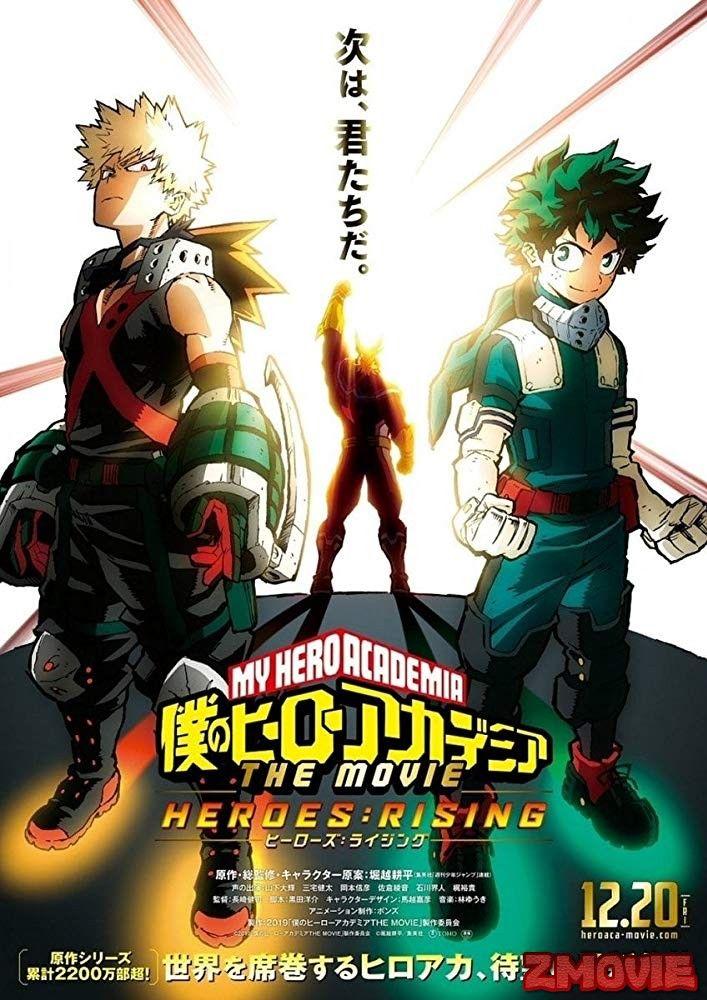 My Hero Academia Episode 1 Vostfr : academia, episode, vostfr, Academia:, Heroes, Rising, Complet, Streaming, Pemandangan, Anime,, Hiburan,