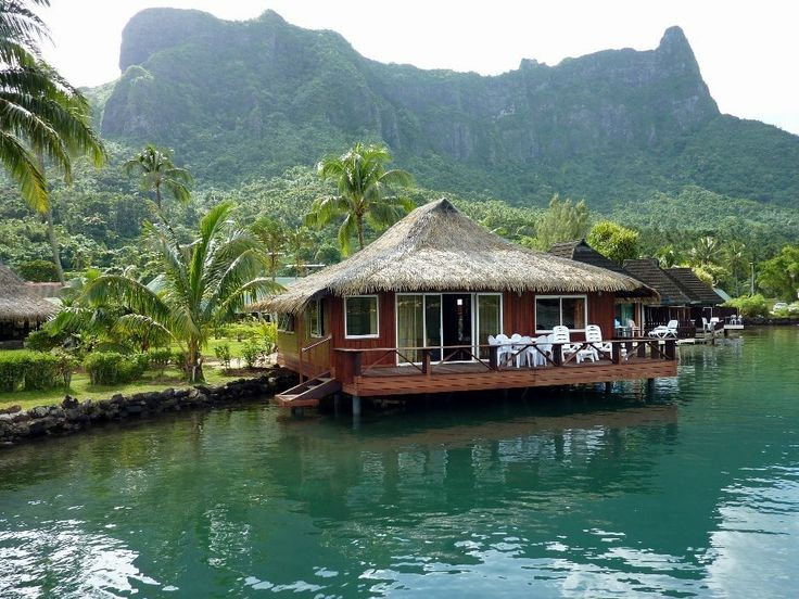 Days 1-5 South Seas-Club Bali Hai Moorea Hotel, Overwater Bungalows, Tahiti, French Polynesia - Moorea Vacation Packages Best Rates