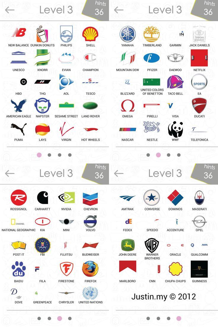 Extrêmement Plus de 25 idées uniques dans la catégorie Logo quiz iphone sur  AD96