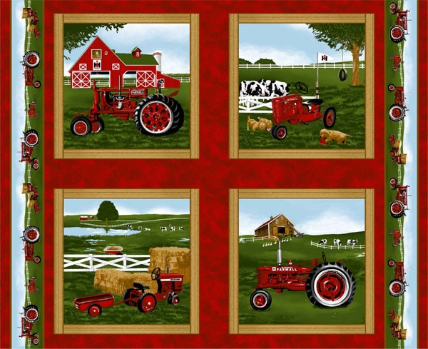 1000 Images About Tractor Fabric On Pinterest