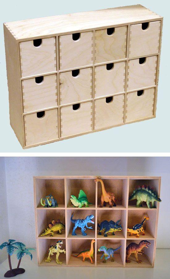 Dinosaur storage. IKEA HACK - Moppe