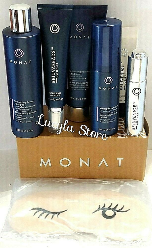 MONAT Hair SET Volume Revive Revitalize Reshape
