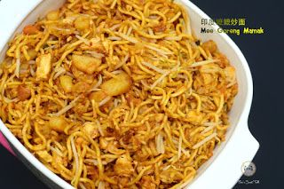 Coco's Sweet Tooth ......The Furry Bakers: 印度嬷嬷炒面 Mee Goreng Mamak