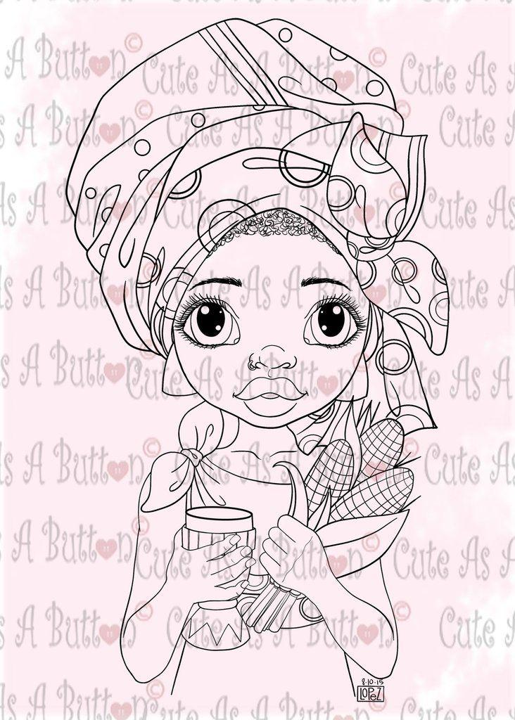IMG00496 Happy Kwanzaa Digital Digi Stamp  #copic #coloring #holidays #kwanzaa #african #illustratedart #digistamp #digis #digis #holidays #winter #snow #cards #cardmaking