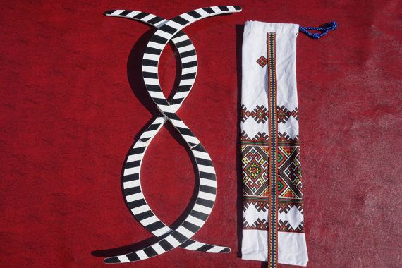 Buugeng S Staff; juggling; 2 colors; stripes model (black&white) handmade; hand painted; best Quality! Bonus: free bag
