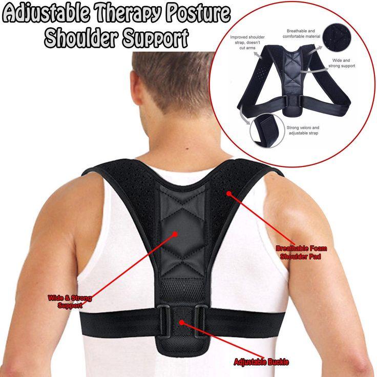 $ 11.88 | Adjustable Posture Support Clavicle Corrector Back Pain Shoulder Brace…