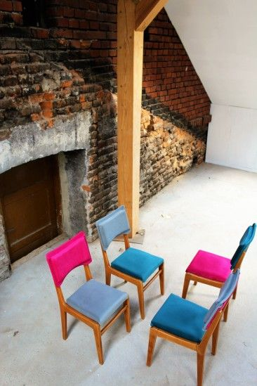 "Krzesła Komplet ""4"" – wytwórczość drobna"