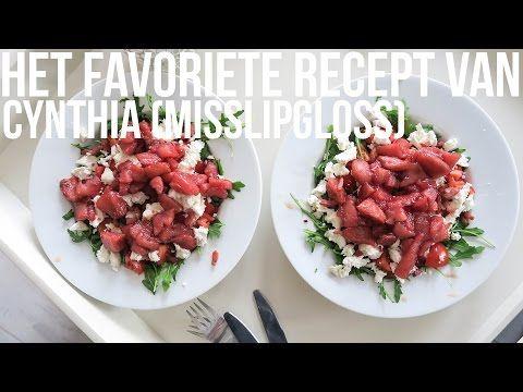 Het favoriete recept van MissLipgloss: Stoofperensalade met geitenkaas en spekjes | OhMyFoodness - YouTube