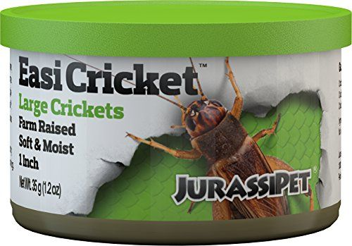 JurassiDiet EasiCricket is the easy alternative to feeding live prey. EasiCricket is designed to be used as either a main food source or as a complementary treat. When used as a main food source cons...