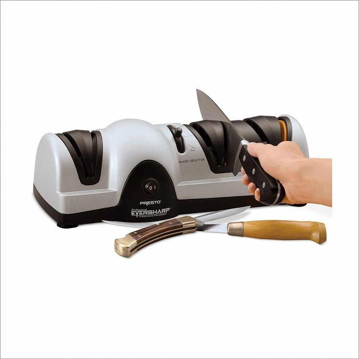 Presto 08810 3-Stage Professional Electric Knife Sharpener