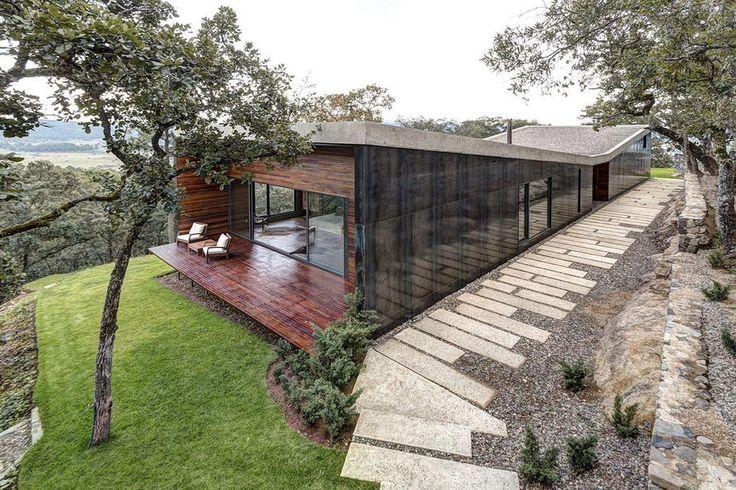 Fa, üveg, polírozott acél, beton és csodás panoráma - Casa GG / Elías Rizo Arquitectos