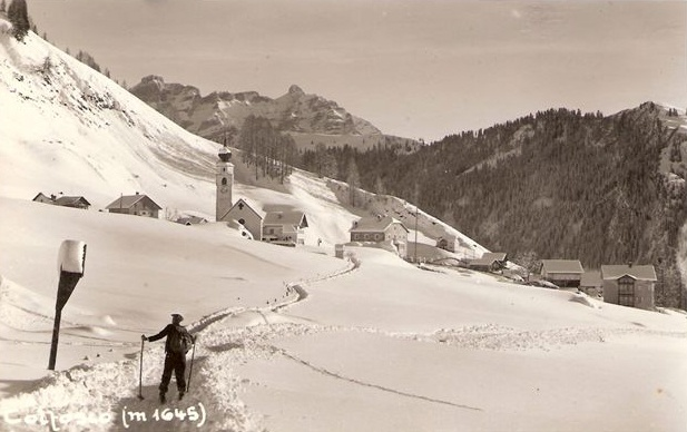FotoLadinia le foto della Val Badia e delle Dolomiti - Cartoline/Colfosco