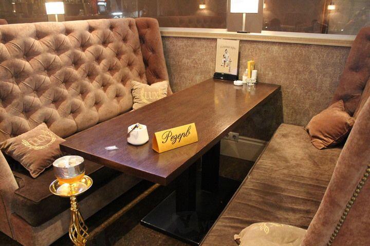 Наша вышивка в интерьере кафе Lux