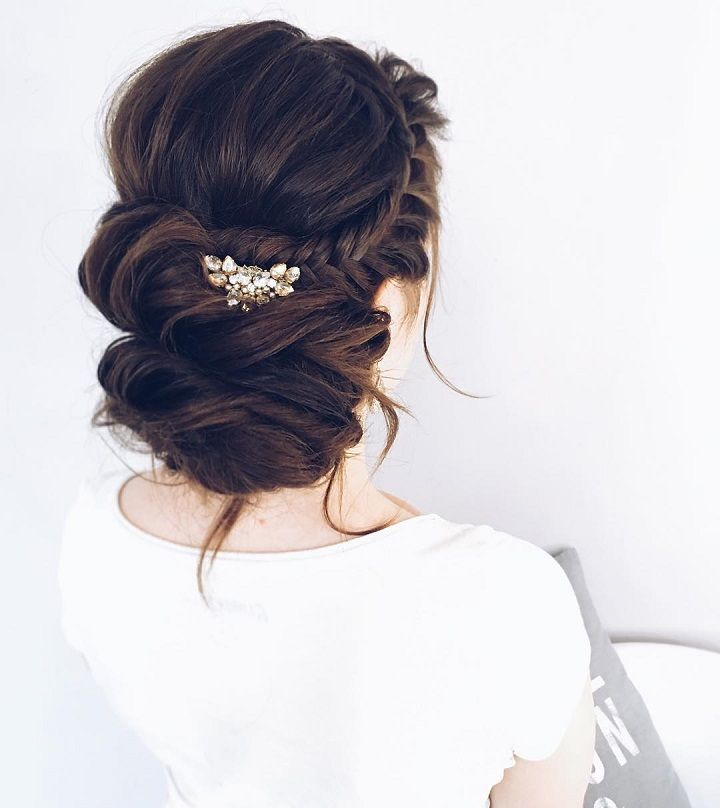 We're focusing on our favorite, most romantic wedding hairstyles to complete your vision. Check out these 4 romantic bridal hairstyles,bridal updos for long