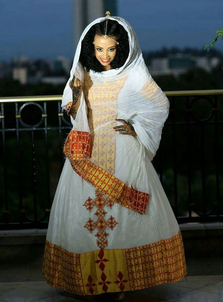 Ethiopian Wedding Dress 66 Vintage