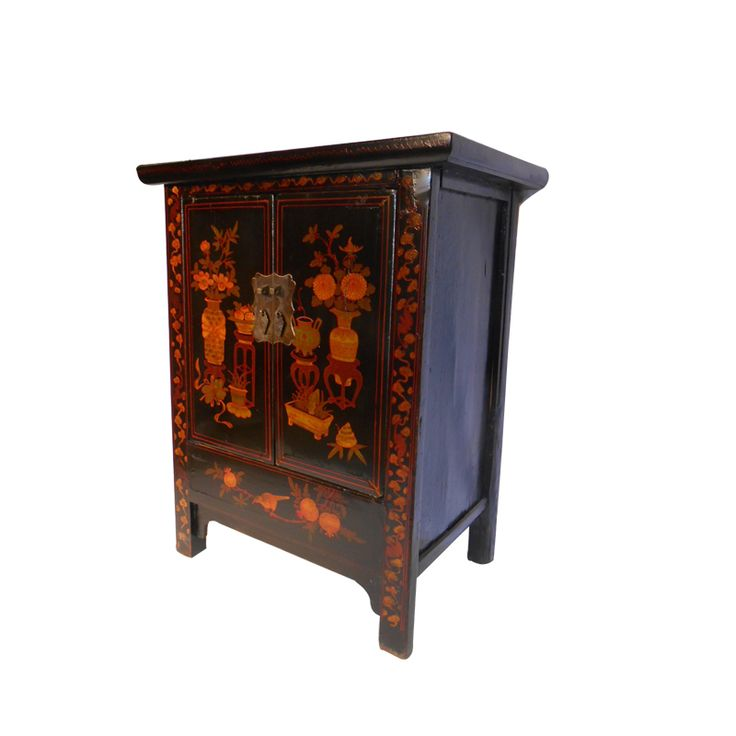 1000 images about oriental lacquer furniture on pinterest for Oriental cabinet