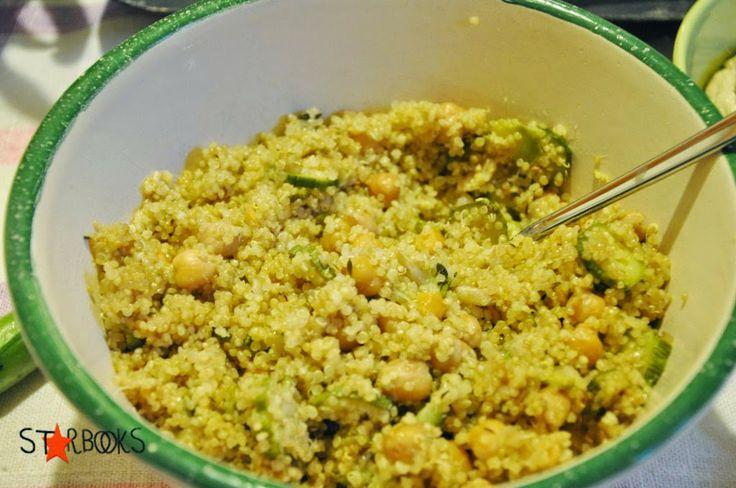 quinoa con ceci e zucchine ( Csaba)