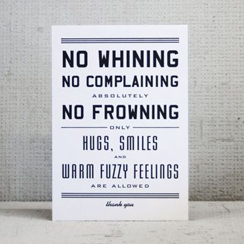 The Rules of The House - Urban Outfitters Prints
