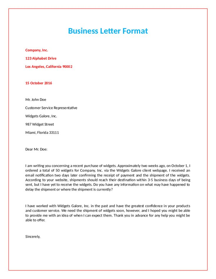 Best  Official Letter Format Ideas On   Format Of