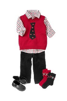 Crazy 8 red dress toddler